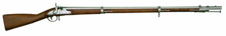 Photo Carabine 1816 Harper's Ferry Colt Conversion à percussion cal. .69