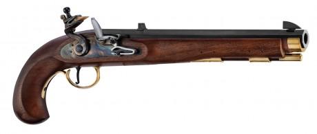 Photo Pistolet Kentucky à silex cal. . 45
