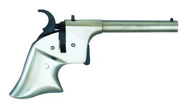 Photo Derringer Rider pistol white cal. 4.5 mm