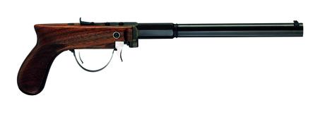 Photo Pistolet Carleton Underhammer Target cal. 36