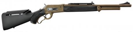 Photo carabine de chasse Pedersoli lever action Boarbuster Mark II mod. 86/71 cal. 45-70