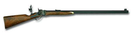 Photo Carabine Sharps Boss à cartouche métallique cal. .45/70