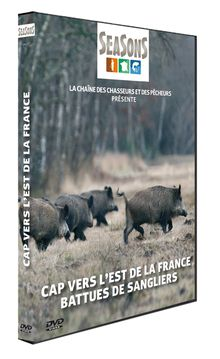 Photo Seasons DVD - Hunting Video - Cap to the East of France: beaten wild boars