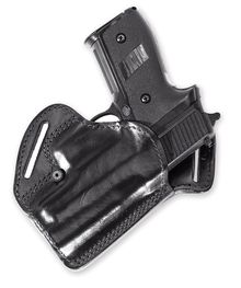 Photo Molded leather back cover for Glock 17/19
