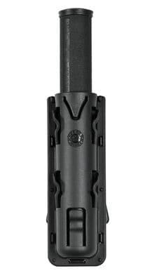Photo Black telescopic baton baton