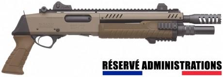 Photo Fabarm STF 12 SHORT pump gun - Flat earth
