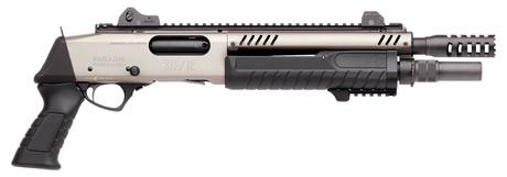 Photo Pistolet à pompe Fabarm STF 12 SHORT - Nickel