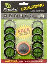 Photo Cibles détonantes et réactives Firebird Airflash 40 mm Extreme