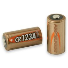 Photo Lithium battery CR123 3 volts - Ansmann
