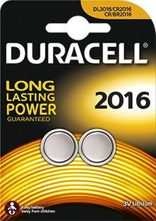 Photo CR2016 3 Volt Batteries - Duracell