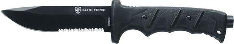 Photo Couteau droit Elite Force EF 703 kit de survie