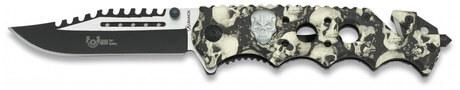 Photo Folding knife Albainox Skull