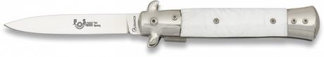 Photo Albainox folding knife white
