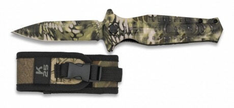 Photo Tactical folding knife Camo Kryptek Mandrek