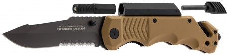 Photo Tactical folding knife / survival