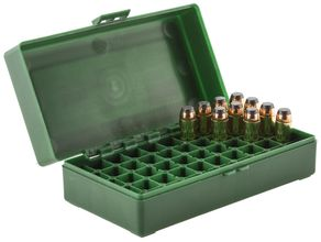 Photo Storage box 50 ammunition cal. 44 Magnum
