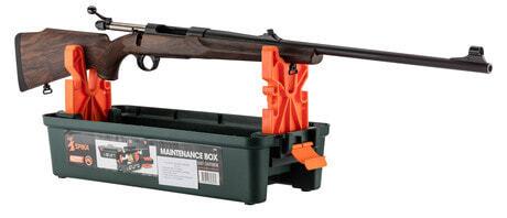 Photo Maintenance workshop case and easel for long gun - Spika