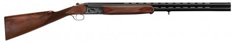 Photo Fusil de chasse superposé à crosse Anglaise Cal. 20/76