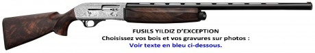 Photo Semi-automatic rifle Yildiz A71 Special Luxe cal. 12/76 & 20/76