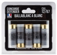 Photo 5 cartridges Ballablanc cal. 12/67 to white