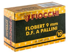 Photo Flobert 9 mm cartridges with lead shot