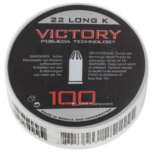 Photo Box of 100 cartridges 22 LR white