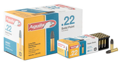 Photo Cartouches 22 LR Solid Point Aguila