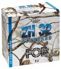 Photo Cartouches Fob ZH 32 Acier Standard - Cal. 12/70