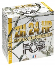 Photo Cartouches Fob ZH Acier haute performance - Cal. 20/70