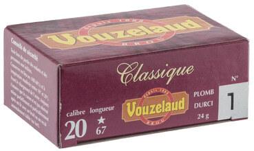 Photo Cartouches Vouzelaud - Classique grand culot - Cal. 20/67