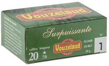 Photo Cartouches Vouzelaud - Surpuissante - Cal. 20/70