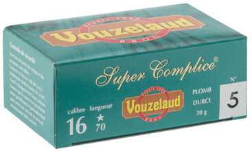 Photo Cartouches Vouzelaud - Super Complice 70 - Cal. 16/70