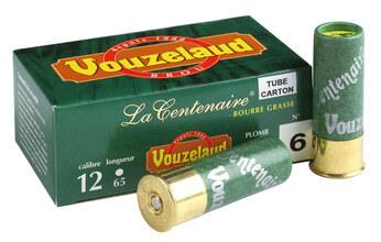 Photo Cartouches Vouzelaud - La Centenaire tube carton - Cal. 12/65