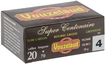 Photo Cartridges Vouzelaud - Super Centennial - Cal. 20/70