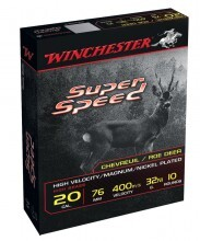 Photo Cartouches Winchester Super Speed G2 - Cal. 20/76