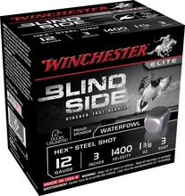 Photo Cartouches Winchester Blind Side - Cal. 12/70, 12/76 & 12/89
