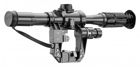 Photo Optique NPZ PO 2.5 x 18 pour AK-SAIGA