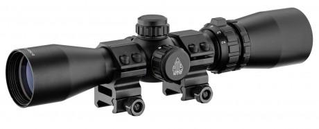 Photo Lunette de tir UTG 2-7 x 32 mm pour arme de poing