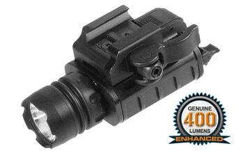 Photo TACTICAL LAMP PICATININY 400 LUMENS FOR PISTOL