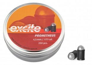 Photo Balles à air Prometheus tête ronde cal. 4,5 mm