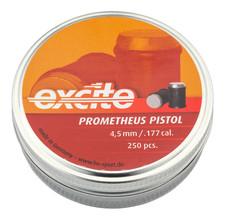 Photo Balles à air Prometheus têtes plates cal. 4,5 mm