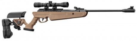 Photo Carabine à air break barrel QUANTICO + lunette RTI 4x32 Cal. 4,5mm