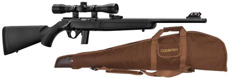Photo Pack carabine Mossberg Plinkster synthétique cal. 22 LR