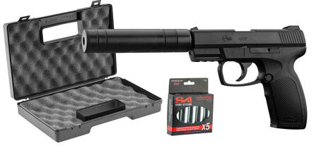 Photo Combat Pack Zone- CO2 + silencer + case ABS + 5 Co2
