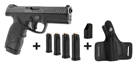 Photo Steyr Mannlicher L9-A1 semi-auto pistol pack + charge + 4 chargers + holster