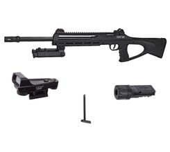 Photo Pack sniper tac6 - CO2 + bi-pied + laser réglable + chargeur + red dot