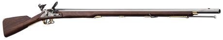 Photo Brown Bess flintlock steel rifle .75