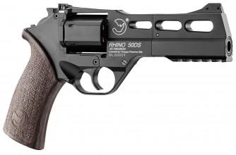 Photo Réplique Airsoft revolver Co2 CHIAPPA RHINO 50DS black mat 0,95J