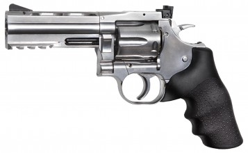 Photo Réplique revolver Dan wesson 715 CO2 silver 4 Pouces - ASG