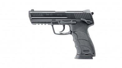 Photo HK45 GBB pistol metal slide 0,9J